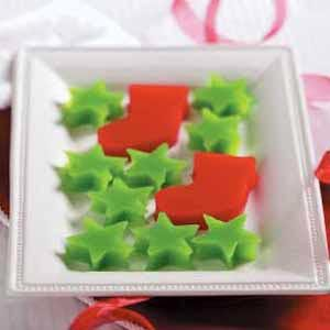 Christmas Gelatin Cutouts Recipe