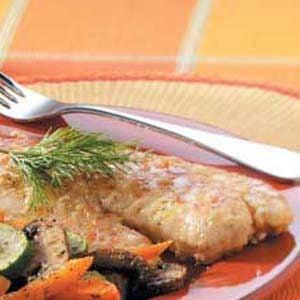 Pine Nut-Crusted Tilapia Recipe