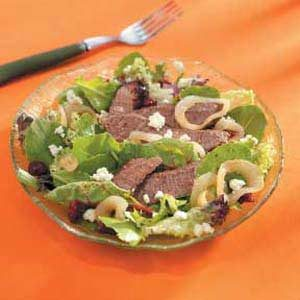 Savory Steak Salad Recipe
