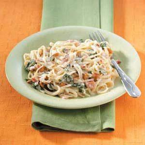 Linguine with Garlic Sauce Recipe