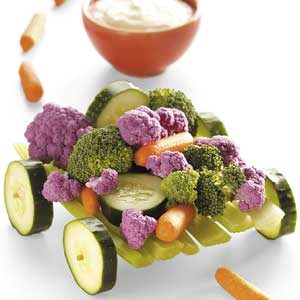 Mini Veggie Wagon Recipe