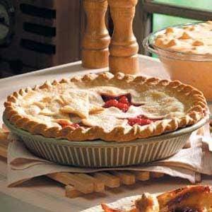Red Raspberry Pie Recipe