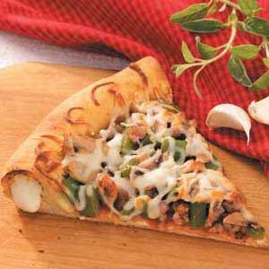 Cheese Crust Pizza Recipe