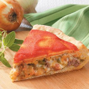 Chicago-Style Stuffed Pizza Recipe