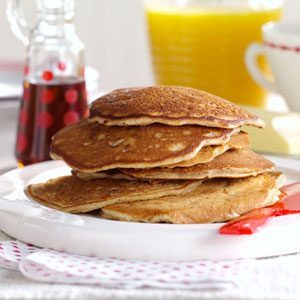 Pecan Apple Pancakes Recipe