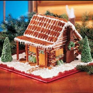 Pretzel Log Cabin Recipe