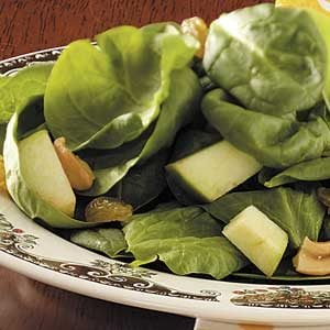 Green Apple Spinach Salad