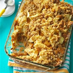 Contest-Winning Caramel Apple Crisp Recipe