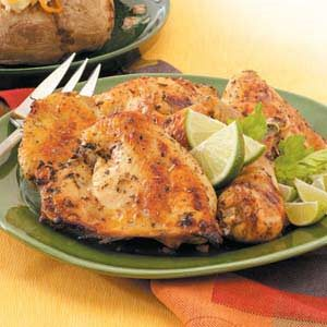 Lime Herb Chicken Recipe