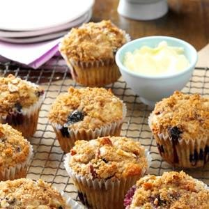 Banana Berry Muffins Recipe