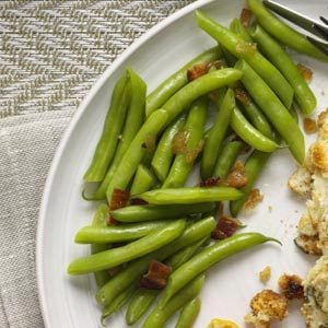 Sweet-Sour Green Beans Recipe