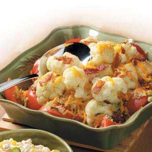 Cauliflower Tomato Medley Recipe