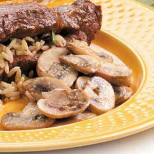 Sauteed Garlic Mushrooms Recipe