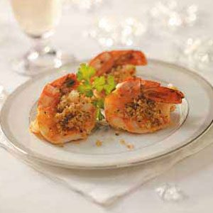 Stuffed Butterflied Shrimp Recipe
