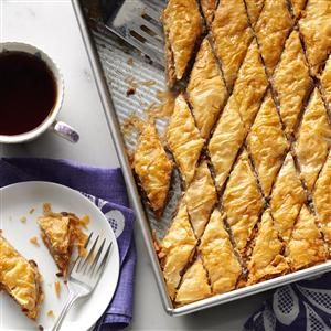 Double Nut Baklava Recipe
