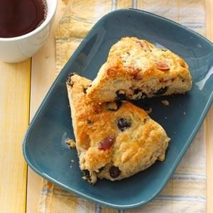 Bacon Blueberry Scones Recipe