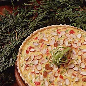 Swiss 'n' Crab Supper Pie Recipe