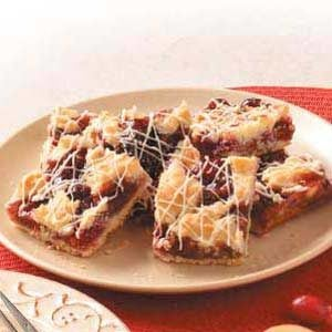 Cranberry Shortbread Bars Recipe
