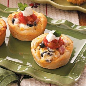 Chili Ham Cups Recipe