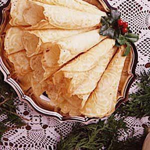 Whipped Cream Krumkake Recipe