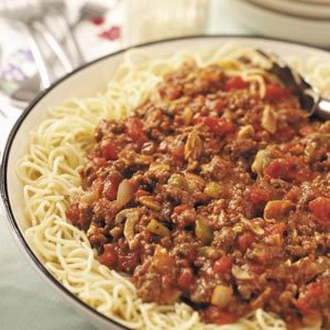 Big-Batch Spaghetti Sauce Recipe