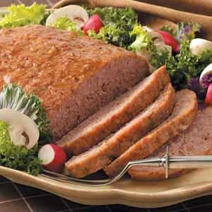Sausage Ham Loaves Recipe