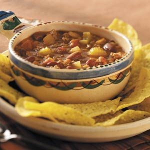 Hearty Potluck Chili