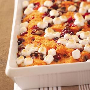 Mallow Sweet Potato Bake