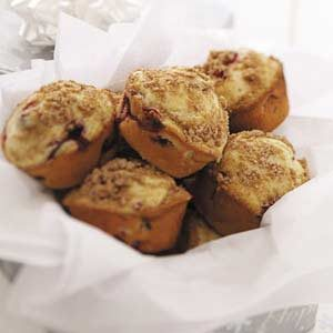 Cran-Orange Streusel Muffins Recipe