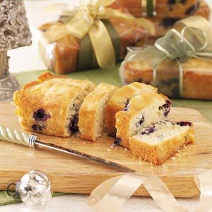 Blueberry Colada Mini Loaves Recipe
