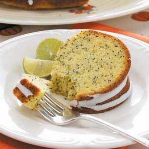 Lemon-Lime Poppy Seed Cake Recipe