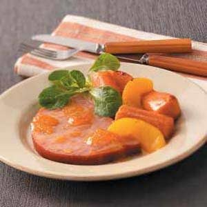 Glazed Ham with Sweet Potatoes Recipe