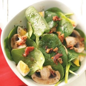 Super Spinach Salad Recipe