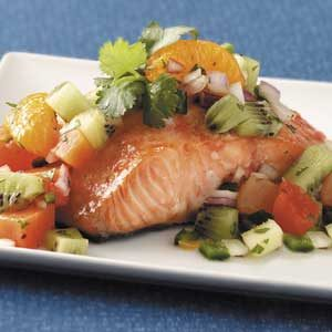 Sugar 'n' Spice Salmon Recipe