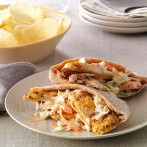 Chicken Pita Pockets Recipe