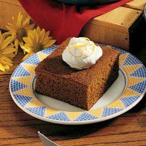 Great-Grandma's Ginger Cake Recipe