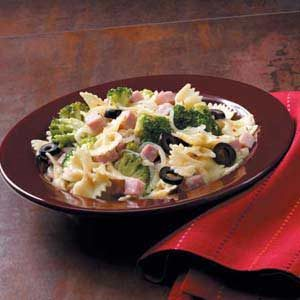 Spicy Ham 'n' Broccoli Pasta Recipe