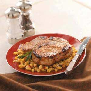 Sunday Pork Chops Recipe