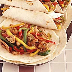 Stir-Fried Chicken Fajitas Recipe