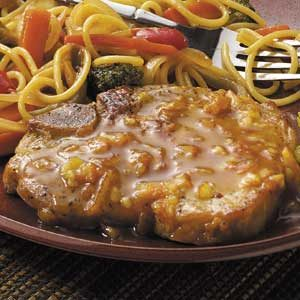 Citrus-Glazed Pork Chops Recipe