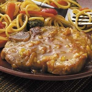 Citrus-Glazed Pork Chops