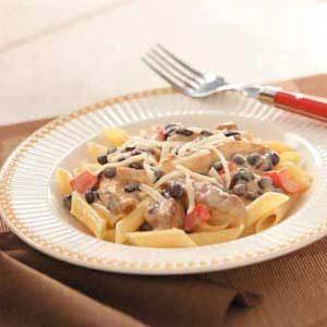 Southwest Bean and Chicken Pasta Recipe