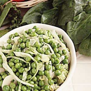 French Peas with Water Chestnuts Recipe