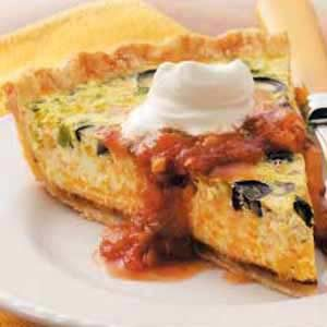 South-of-the-Border Quiche Recipe