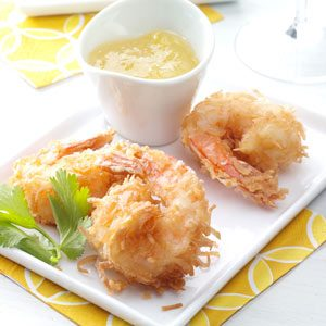 Quick Coconut Shrimp