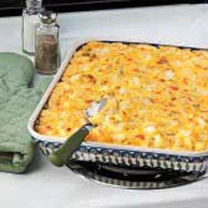 Golden Potato Casserole Recipe