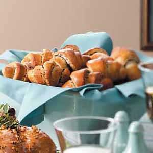 Poppy Seed Crescents Recipe