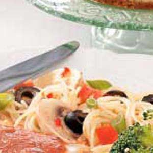 Spaghetti Salad with Italian Dressing Recipe