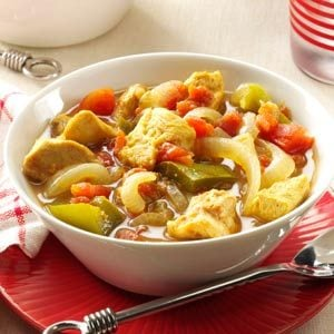 Sweet 'n' Sour Curry Chicken