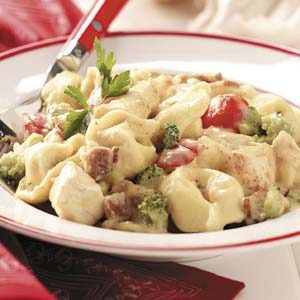 Alfredo Chicken Tortellini Recipe